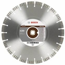 Bosch Алмазный отрезной круг Best for Abrasive 400 x 20,00+25,40 x 3,2 x 12 mm 2608602687