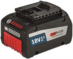 Аккумуляторный блок Bosch GBA 18V 6,3 Ah EneRacer [1600A00R1A] - фото 65065