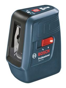 Линейный лазерный нивелир Bosch GLL 3 X [0601063CJ0] - фото 65734