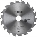 Bosch Диск для циркулярных ручных пил Optiline Eco 130-20(16) 18 2608641781