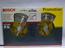 Bosch Круг алмазный НАБОР BOSCH 2 х D 115 (2 х 2608600440) по строит. материалам 2608602117