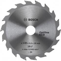 Диск для циркулярных ручных пил Bosch Optiline Eco 160-20(16) 18 [2608641785]