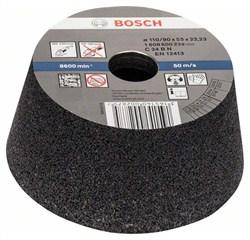 Bosch Чашечный шлифкруг, конусный, по камню/бетону 90 mm, 110 mm, 55 mm, 24 [1608600239]