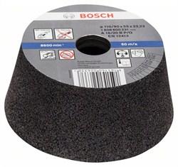 Bosch Чашечный шлифкруг, конусный, по металлу/литью 90 mm, 110 mm, 55 mm, 16 [1608600231]