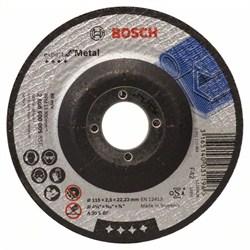 Отрезной круг, выпуклый, Bosch Expert for Metal A 30 S BF, 115 mm, 2,5 mm [2608600005]