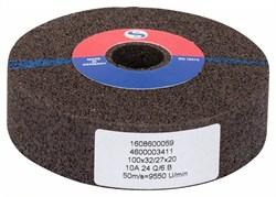 Bosch Шлифкруг для прямых шлифмашин 100 мм, 20 мм, 24 [1608600059]
