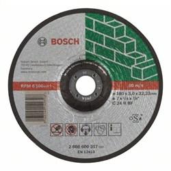 Отрезной круг, выпуклый, Bosch Expert for Stone C 24 R BF, 180 mm, 3,0 mm [2608600317]