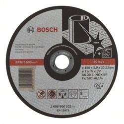 Отрезной круг, прямой, Bosch Expert for Inox AS 30 S INOX BF, 180 mm, 3,0 mm [2608600322]