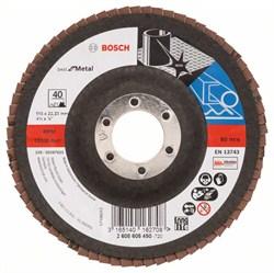 Bosch Лепестковый шлифкруг 115 мм, 22,23 мм, 40 [2608605450]