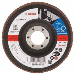 Bosch Лепестковый шлифкруг 115 мм, 22,23 мм, 80 [2608605452]