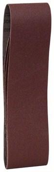 Bosch Набор из 3 шлифлент 75 x 610 mm, 100 [2608606092]