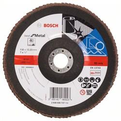 Bosch Лепестковый шлифкруг 180 мм, 22,23 мм, 40 [2608606737]
