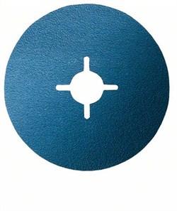 Фибровый шлифкруг Bosch R574, Best for Metal 180 мм, 22 мм, 120 [2608606745]