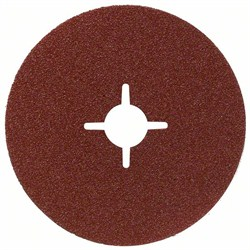 Bosch Фибровый шлифкруг 100 мм, 16 мм, 24 [2608606916]