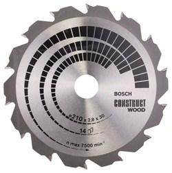 Пильный диск Bosch Construct Wood 210 x 30 x 2,8 mm, 14 [2608640634]