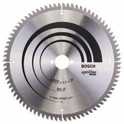 Пильный диск Bosch Optiline Wood 250 x 30 x 3,2 mm, 80 [2608640645]