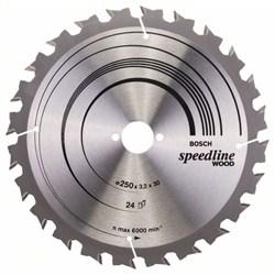 Пильный диск Bosch Speedline Wood 250 x 30 x 3,2 mm, 24 [2608640680]