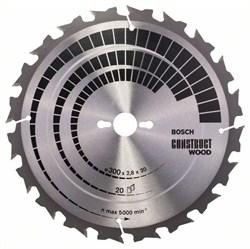 Пильный диск Bosch Construct Wood 300 x 30 x 2,8 mm, 20 [2608640700]