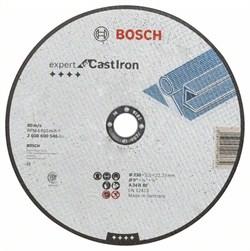Отрезной круг, прямой, Bosch Expert for Cast Iron AS 24 R, 230 mm, 3,0 mm [2608600546]