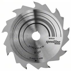 Пильный диск Bosch Speedline Wood 130 x 16 x 2,2 mm, 9 [2608640774]