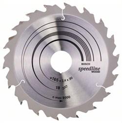Пильный диск Bosch Speedline Wood 165 x 30 x 2,4 mm, 18 [2608640789]