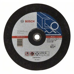 Отрезной круг, прямой, Bosch Expert for Metal A 30 R BF, 300 mm, 3,2 mm [2608600649]