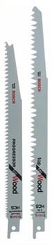 Bosch Набор из 2 пильных полотен Для древесины [2608650434]