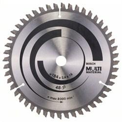 Пильный диск Bosch Multi Material 184 x 16 x 2,4 mm, 48 [2608640815]