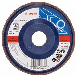 Bosch Лепестковый шлифкруг 115 мм, 22,23 мм, 120 [2608607364]