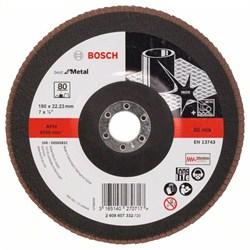Bosch Лепестковый шлифкруг 180 мм, 22,23 мм, 80 [2608607332]