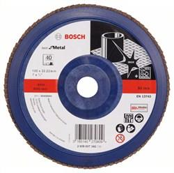 Bosch Лепестковый шлифкруг 180 мм, 22,23 мм, 40 [2608607342]