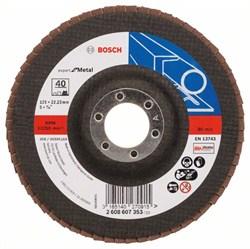 Bosch Лепестковый шлифкруг 125 мм, 22,23 мм, 40 [2608607353]