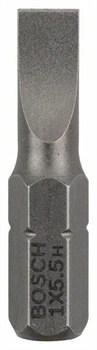 Насадка-бита Bosch Extra Hart S 1,0x5,5, 25 mm [2607001464]