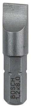 Насадка-бита Bosch Extra Hart S 1,2x8,0, 25 mm [2607001468]