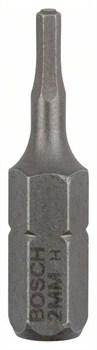Насадка-бита Bosch Extra Hart HEX 2, 25 mm [2607001718]