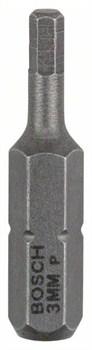 Насадка-бита Bosch Extra Hart HEX 3, 25 mm [2607001722]