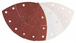 Bosch Набор из 25 шлифлистов 102 x 62, 93 mm, 3x40, 6x80, 3x120, 3x180, 2x40, 2x80, 4x120, 2x180 [2608607417]