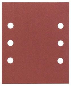 Bosch Набор из 10 шлифлистов 115 x 140 mm, 180 [2608607465]
