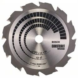 Пильный диск Bosch Construct Wood 190 x 20/16 x 2,6 mm, 12 [2608641201]