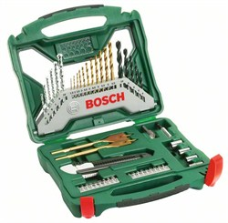 Набор из 50 предметов Bosch X-Line Titanium [2607019327]