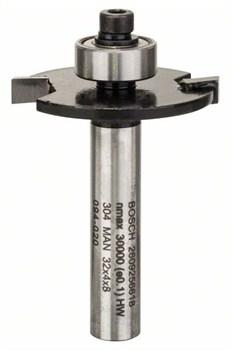 Плоская пазовая фреза 8 mm, Bosch D1 32 mm, L 4 mm, G 51 mm [2609256618]