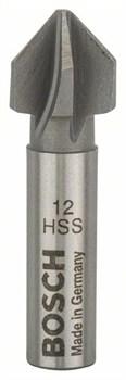 Конусный зенкер Bosch HSS с 5 режущими кромками, DIN 335 12,0 mm, M6, 40 mm, 8 mm [2609255118]