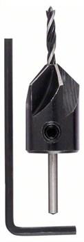 Bosch Твердосплавные винтовые сверла по древесине с зенкером 3,0 x 30 x 60 mm [2609255216]