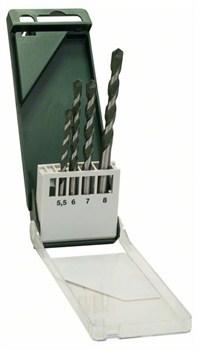 Bosch Набор из 4 универсальных свёрл 5,5x85; 6,0x100; 7,0x100; 8,0x120 [2609255481]