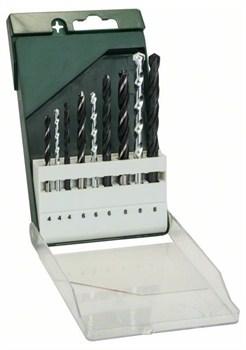 Набор из 9 свёрл по металлу Bosch HSS-R/по камню/по древесине 4,0x75; 6,0x93; 8,0x117; 4,0x75; 6,0x100; 8,0x120; 4,0x75; 6,0x92; 8,0x115 [2609255483]