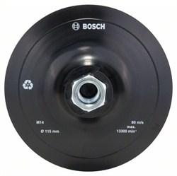 Bosch Резиновый тарельчатый шлифкруг для угловых шлифмашин, на липучке, 115 мм 115 mm [2609256271]