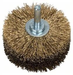 Bosch Деревянная щётка для дрелей – витая проволока, латунированная, 80 мм 80 мм, 0,2 мм, 4000 об/мин [2609256541]
