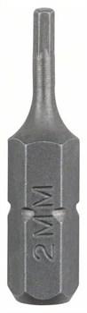 Бита Bosch Standard HEX HEX 2, 25 mm [2609255947]