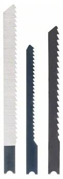 Набор из 3 пильных полотен с Bosch U-образным хвостовиком (1; UE 11 C); (1; UE 19 BO); (1; UE 101 B) [2609256786]