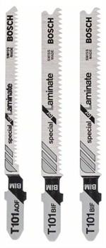 Набор из 3 пильных полотен с Bosch T-образным хвостовиком (2; T 101 BIF); (1; T 101 AOF) [2609256788]